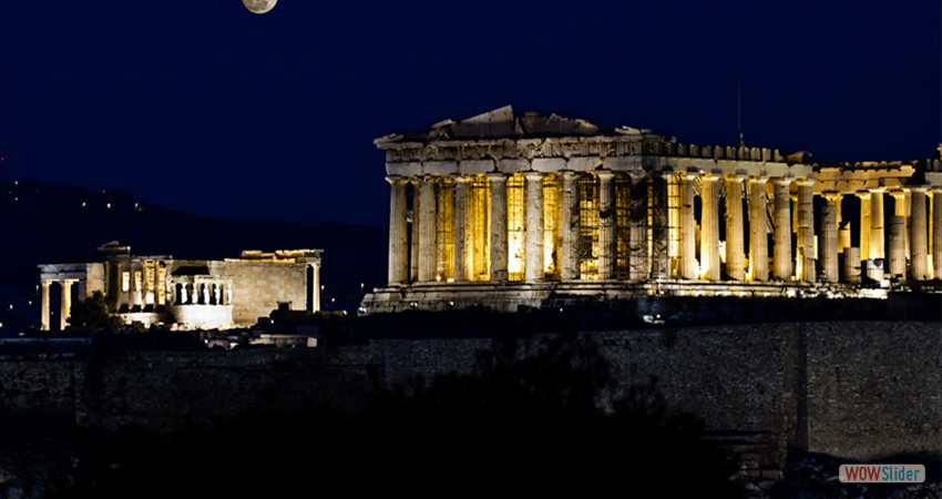 What would a visit to Athens be without going to the Acropolis to see the Parthenon?