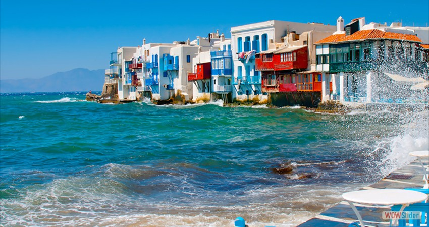 Mykonos!Welcome to Greece's most famous cosmopolitan island, a whitewashed paradise in the heart of the Cyclades.
