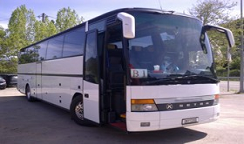 Book a Transfer with 54 seats Bus